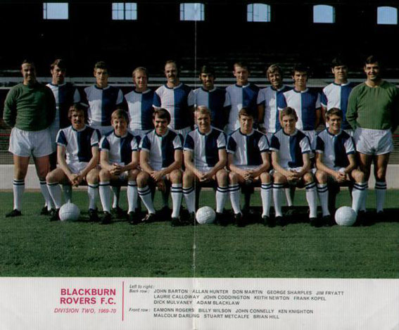 Blackburn Rovers: 1969-1970