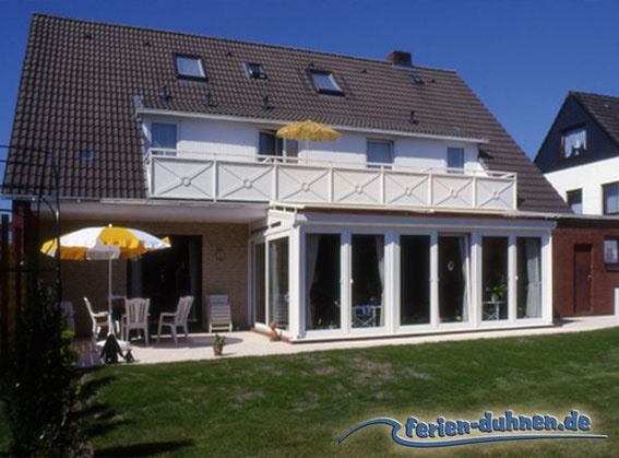 Ferienwohnungen mit Balkon in Cuxhaven Duhnen