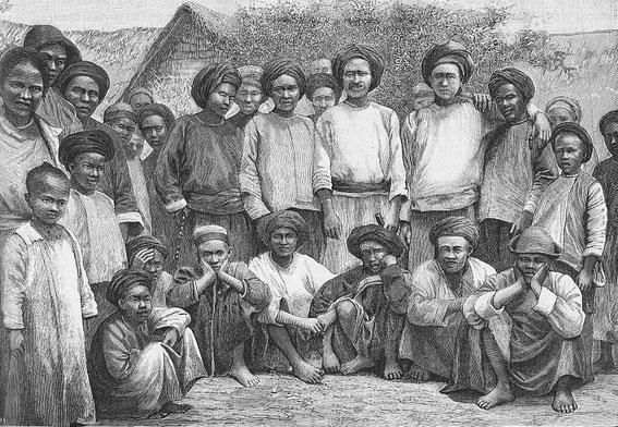 Chrétiens gni. Paul VIAL (1855-1917) : Les Gni ou Gni-Pa, tribu lolote du Yun-nan. Les Missions catholiques, Lyon, tome XXV, 1893; tome XXVI, 1894.