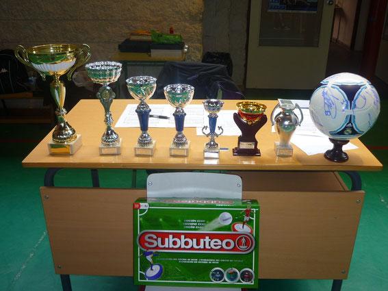 Algunos de nuestros trofeos.