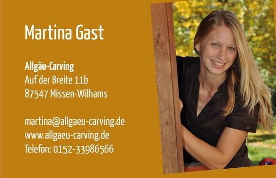 Schnitzen mit der Kettensäge - Allgäu-Carving by Martina Gast