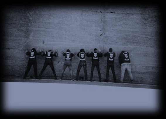 Die Gründer: Muc, Freddy, Lala, Maik, Jun, Hiase und Brauni