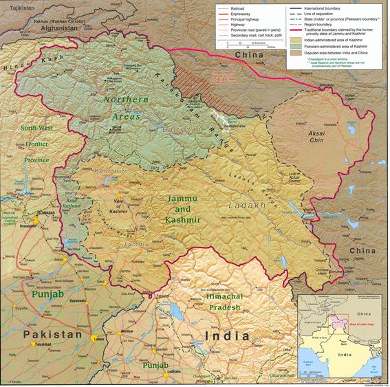 Ladakh, Jammu & Kashmir, Indien
