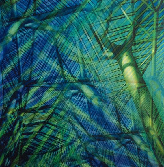 Tecnica mista: digitale, acquerello su cartoncino - cm. 29x29