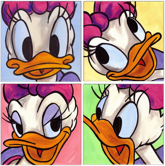 Daisy Duck Faces I