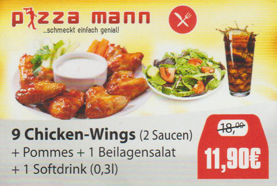 Aktion Chicken Wings