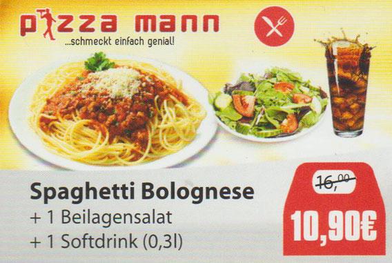 Aktion Spaghetti Bolognese