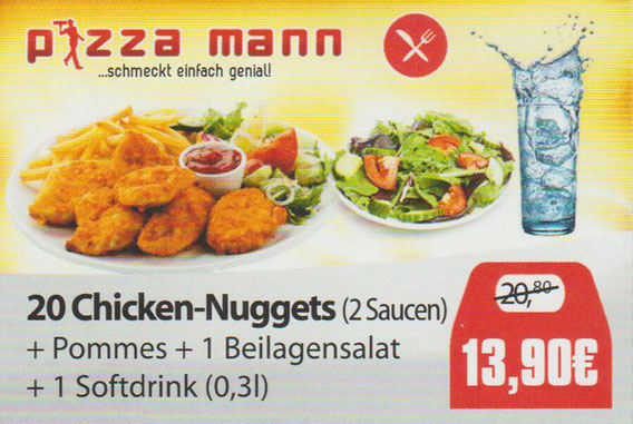 Aktion Chicken Nuggets