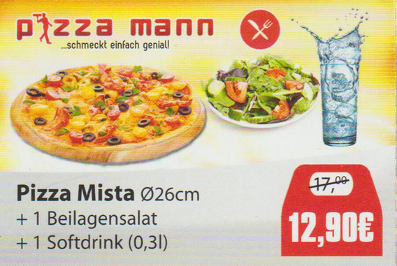 Aktion Pizza Mista