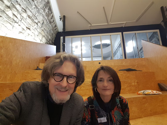 Prof. Veronika Bellone & Thomas Matla im IMPACT HUB ZÜRICH © Greenfranchise Lab®