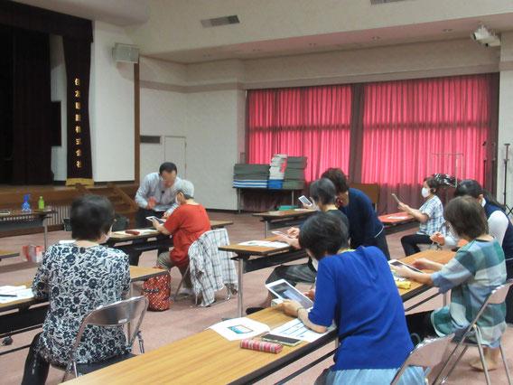 iPad講座を行いました。
