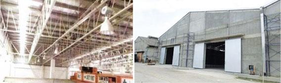 工場や倉庫の電気工事