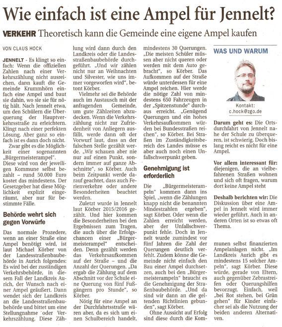 Ostfriesenzeitung 30.09.2021