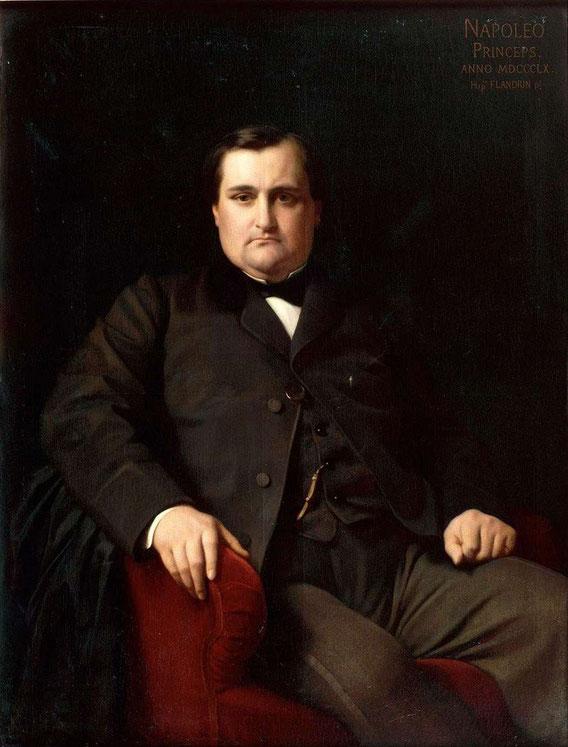 Le Prince Jérôme Bonaparte 1822, 1891 surnommé Plon Plon