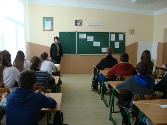 Манько Р. Б. розповідала своїм учням як захиститися від насильства