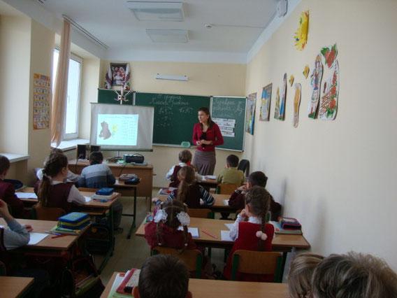 Гостями уроку були Вінні-Пух, П'ятачок і Кролик