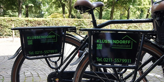 Fahrrad Klüssendorff Immobilien Düsseldorf