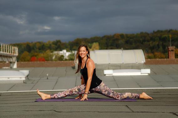 Eva Paasch Yogalehrerin One World Yoga, Hatha und Yin Yoga