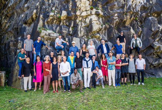KünstlerInnen der Art Südtirol 2017 Landgewinn 50x50x50 in der Franzensfeste