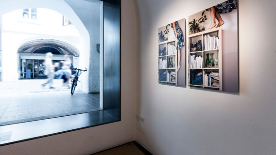 "Ausstellungsansicht ""Kontakt bestätigt"" Stadtgalerie Brixen, IT, 2016"