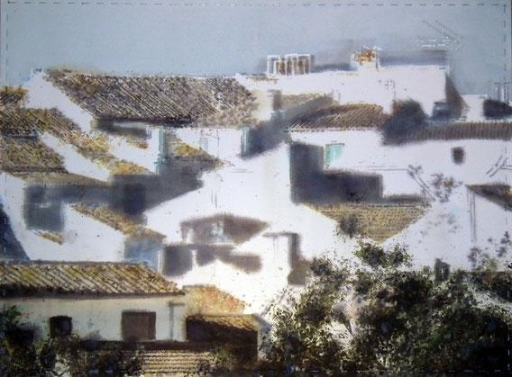 Zuheros.100x75 cm
