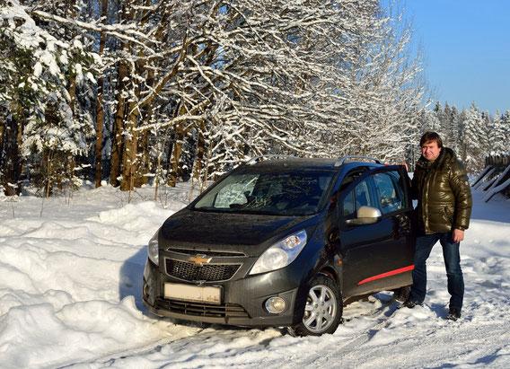 Moscow area. January 2013.