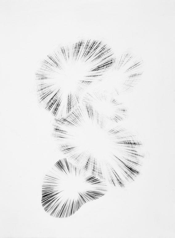 Sans Titre, 40x30 cm, mine de plomb, 2015