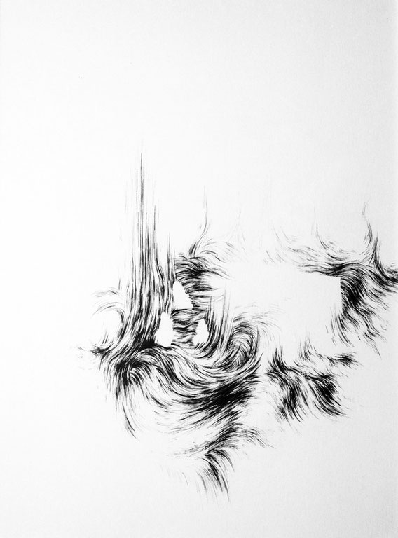 Take me home 1, 30x40 cm, encre, 2012