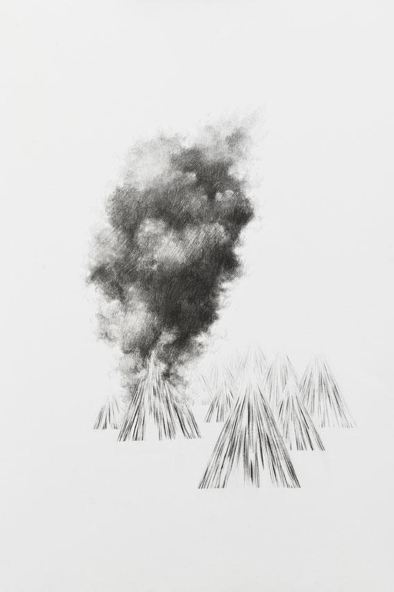 Sans Titre, 30x40cm, Mine de plomb, 2016