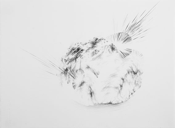 Sans Titre, 35x50cm, Mine de plomb, 2016