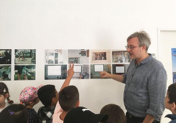 Filmmuseum Außenstelle Sandleiten, Kreativ Volksschule Odoakerstrasse, Raoul Schmidt