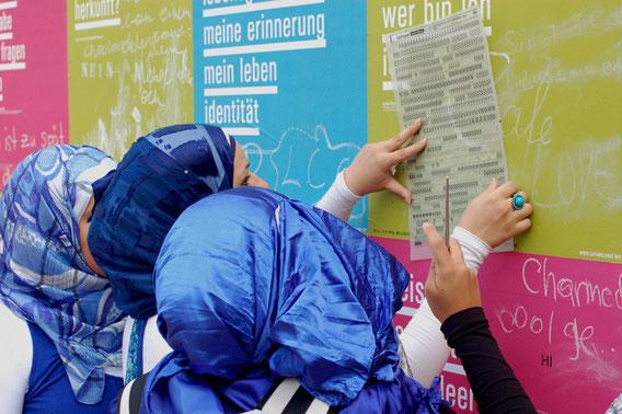 Schulaktion, DAS SCHULSCHIFF Bertha von Suttner im Cafe Melange