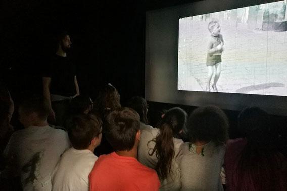 Filmmuseum Außenstelle Seestadt, Das unsichtbare Kino, Pädagogisches Programm: Stefan Huber