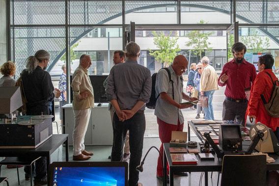 Filmmuseum Außenstelle Seestadt, Eröffnung. Photo: Copyright Eszter Kondor.