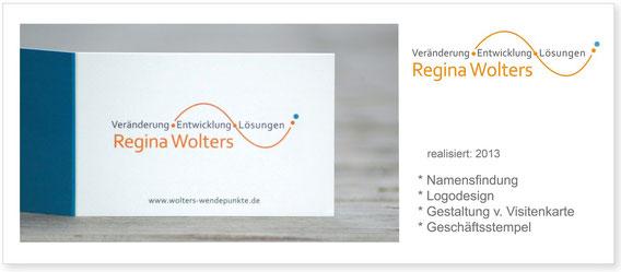Wolters-Wendepunkte - Logo & Visitenkarte