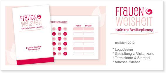 Frauenweisheit - Logo & Visitenkarte