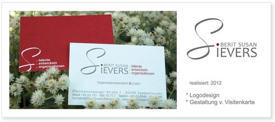 B.S.Sievers - Logo & Visitenkarte