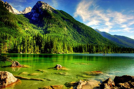 Alpenwieder See Berg Grün Wasser Erholung Entspannung Inspirierende Zitate Waisheiten