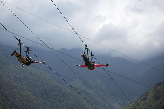 Zipline Puerto Rico, Karibik, Karibische Inseln