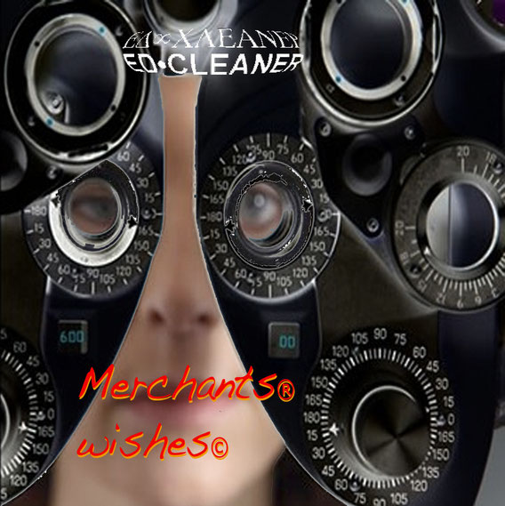 pochette album merchants® wishes© par Ed Cleaner (26 titres - juin 2003)