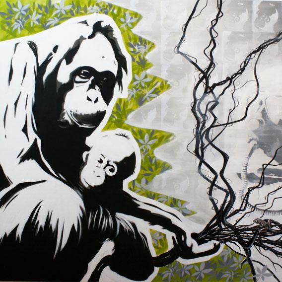 Ausrottung der Orang Utans durch Palmölanbau
