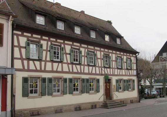 Altstadtrundgang Otterberg, ehemaliges Gasthaus Krone