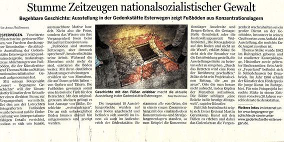 Artikel Ems-Zeitung vom 2. Juli 2013