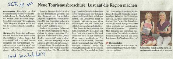 Heilbronner Stimme, 26.7.2018
