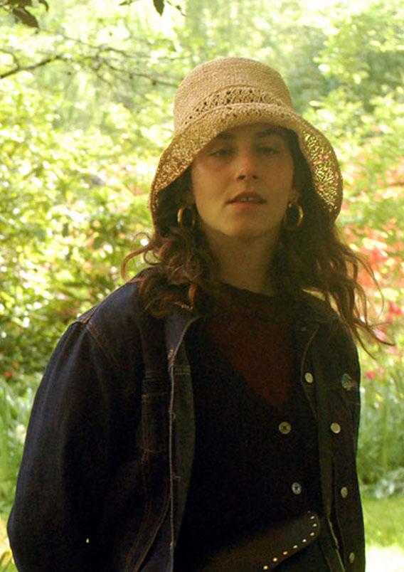 chapeau de paille artisanal naturel
