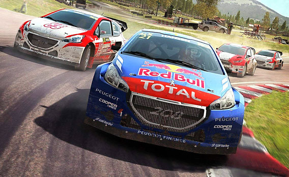 Rally Spiele: DiRT Rally
