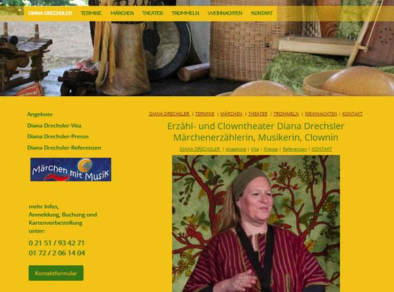 Diana Drechsler | Märchen-mit-Musik | Erstellt mit Jimdo