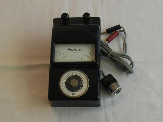 Gossen - Erlangen  Belichtungsmesser  Microsix für Mikrophotographie