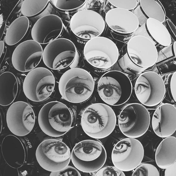 Віталій Дмитрук Арт, Vitaliy Dmytruk Art, око, очі, гогольфест дмитрук, дмитрук інсталяція, глаза арт, искусство украина