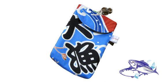 気仙沼オリジナル大漁旗携帯ケース